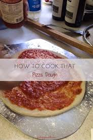 How To Cook A Pizza How To Cook That Pizza Dough Pintsize Gourmets