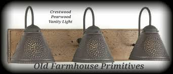 primitive lighting fixtures. Amazing Primitive Vanity Lights Bathroom Light Lighting Fixtures