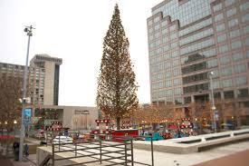 Kansas City Mayor S Christmas Tree Lighting Ceremony Oh Christmas Tree Oh Giant Kc Crown Center Christmas Tree