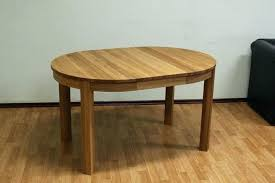 extendable round dining table extending oval oak rustic seats 10 ikea modern can