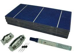 diy solar panel solar cells panel kit