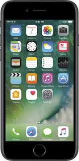 iphone refurbished. apple - geek squad refurbished iphone 7 32gb black (verizon) front_zoom iphone t