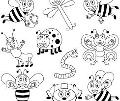 Surprise Colouring Pages Insects Insect Coloring Page Stink Bug