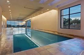indoor infinity pool. Dating From The 1920s, Casa La Luna Estate Is One Of Santa Fe\u0027s Most Historic Residences, Built In Southwestern Pueblo Revival Style. Indoor Infinity Pool