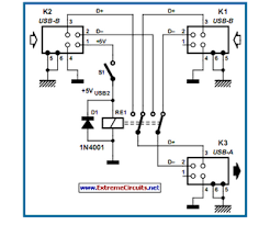 usb switch for printers eeweb community usb printers switch circuit diagram