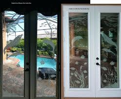 window tint for sliding glass doors decorative door privacy patio decal