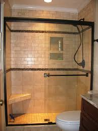 tub shower combo ideas surrounded full tile wall decor glass windows covwring horizontal blind brown marble