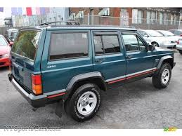 1996 Jeep Cherokee Sport 4WD in Bright Jade Green photo #2 ...