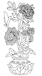 Small Picture flowers in vase adult coloring picture Adult Colouring