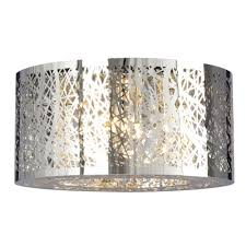 living lighting beaches. 5-Light Flush Mount In Polished Chrome - Laser Cut Metal Shade \u0026 Clear Crystal Living Lighting Beaches