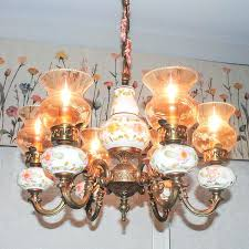 painted chandelier painted chandeliers before and after chalk painted brass chandelier