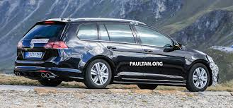 SPYSHOTS: VW Golf Mk7 facelift – R Variant spotted Paul Tan ...