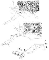 2011 jeep patriot exhaust system diagram i2261966