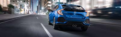 Image Of 2017 Civic Hatchback Backend.  A