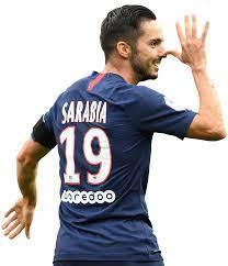 Pablo Sarabia football render - 65156 - FootyRenders