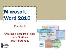 Ppt Microsoft Word 2010 Powerpoint Presentation Id215910