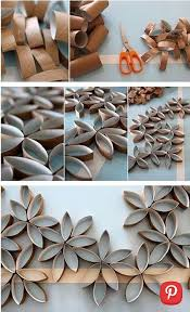 budget decorating diy paper roll crafts