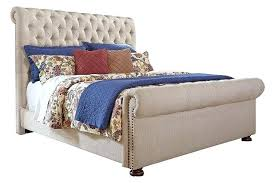 tufted upholstered sleigh bed.  Sleigh Tufted Sleigh Bed Queen Linen Upholstered View 2  Intended Tufted Upholstered Sleigh Bed