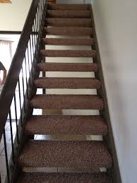 astonishing wooden floating stairs with brown carpet runner to decorate in midcentury interior ideas brown carpet for stairs i77 stairs
