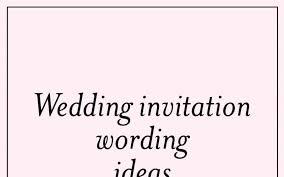 Couple Template Unique Wedding Invitation Wording Invite Couple Hosting Informal