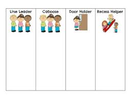 Classroom Jobs For Primary Grades By Monica Cox Tpt