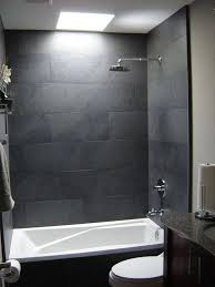 grey tile bathroom lovely 37 grey slate bathroom wall tiles ideas and pictures