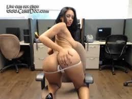 Latina cam masturbation office 2016