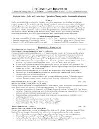 Resume Territory Sales Manager Resume