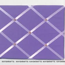 Purple Memo Board Gorgeous Purple And Lilac Memory Board French Memo From Kayskrafts On Etsy