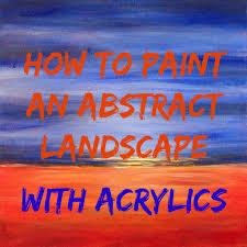landscape feltmagnet in easy painting ideas excellent