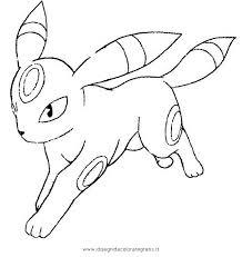 Disegno Pokemonumbreon2 Personaggio Cartone Animato Da Colorare