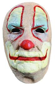 creepy clown makeup png jpg black and white