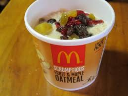 review mcdonald s fruit maple oatmeal