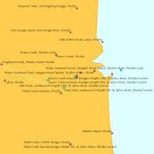 Florida Depth Chart 2009 Mayport Ferry Depot Florida Tide Chart