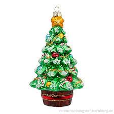 Weihnachtsbaum Grün 16cm Weihnachtskugeln Figuren