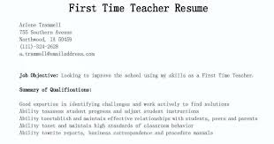 How To Write A Resume For The First Time Resume Samples First Time