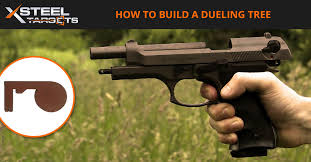 when you re planning your shooting range one part of this should be a dueling tree it s an incredibly fun part of your range but importantly