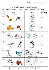 penny worksheets for kindergarten