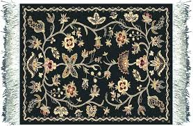 spanish colonial style rugs furniture magnificent wool braided plow and hearth mills handmade
