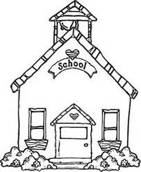 Small Picture Clipart of a school house for invitation collection