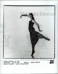 1992 Press Photo Buffy Miller of the Feld Ballet in Ion - cvb14851 ...