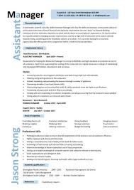 Assistant Manager Resume Retail Jobs Cv Job Description Intended