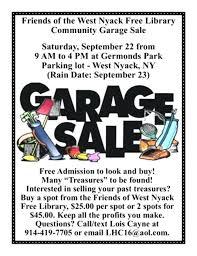 Community Garage Sale Cash Advanceloan Co