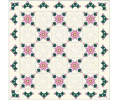Rose of Sharon Quilt Pattern - The Quilting Company & Rose of Sharon Quilt Pattern Adamdwight.com