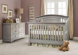 windsor ash gray crib babycache