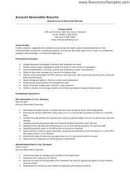Accounts Receivable Resume 7 Techtrontechnologies Com