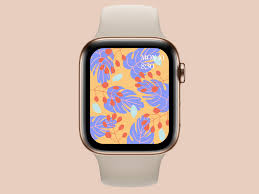 Tropical Apple Watch Wallpaper 4K ...