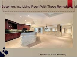 Basement Design Ideas Custom Turn Your Basement Into Living Room With These Remodeling Ideas