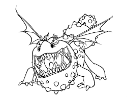 How To Train Your Dragon Coloring Pages For Kids Printable Free S Dessin How To Train Your Dragon ColoringL