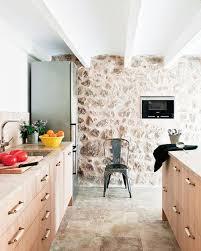 Kitchen Stone Floors Mallorca Spain House Tour Kitchen Stone Floors Walls Exposed Beam